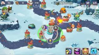 [Android Game Guide] How To Pass Castle Defense Invasion Stage 8-2 Extremely Cold Land Normal