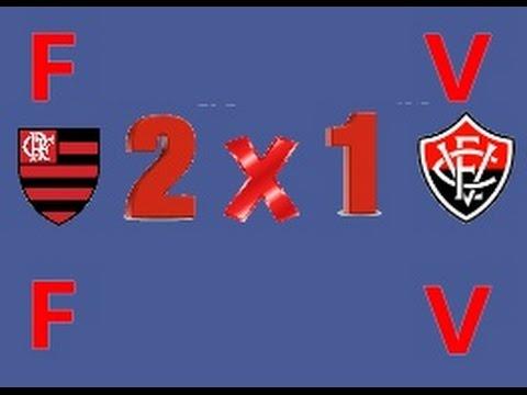 Melhores Momentos - Flamengo 2 x 1 Vitória (10/09/16)