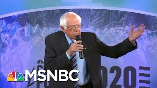 Bernie Sanders: Fighting Climate Change Will Create 'Up To 20 Million Good Paying Jobs.' | MSNBC