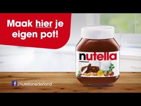 Maak je eigen pot Nutella - YouTube