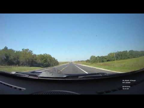 Time lapse drive Emporia, KS to Denver, CO