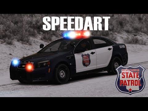 Speedart 1 Wisconsin State Patrol Caprice🚔