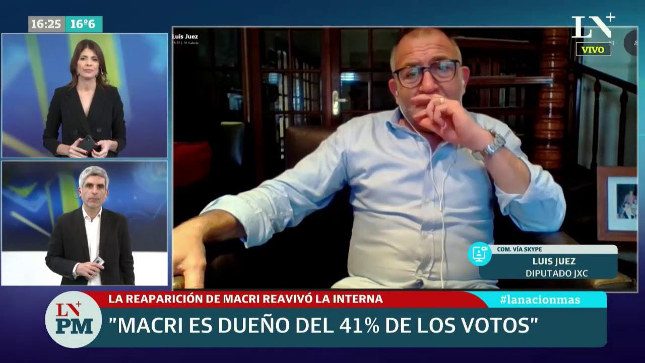 "Luis Juez: ""Cristina Kirchner tiene una actitud de venganza, se va a vengar una por una"""