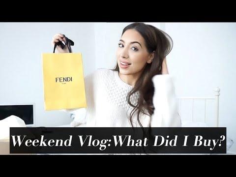 Weekend Vlog: Fendi Unboxing, Dior, Shopping & Organising My Closet