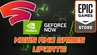 Nvidia Geforce Now Adds 16 Games - Epic Games Free Civilization 6 - Stadia Exclusive Ember Is Out