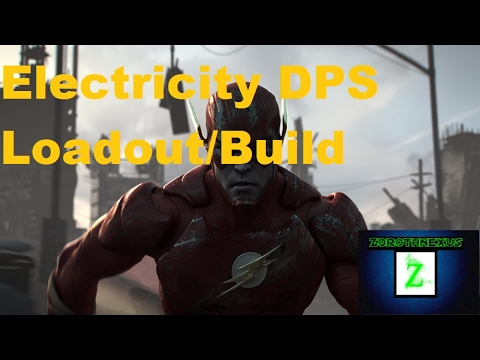 DC Universe Online: Electricity DPS Loadout/Build GU67