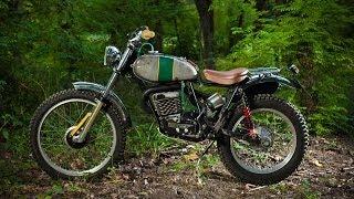Italian custom SWM TL320 by Lorenzo Buratti