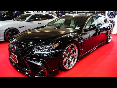 (4K)WALD LEXUS LS500 F-Sport Executive Line ヴァルド レクサスLS500 Fスポーツ - OSAKA AUTO MESSE 2019
