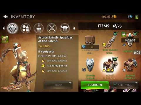 Dungeon Hunter 4 Strongest Boss Fight Dunya The Spirit Absolution