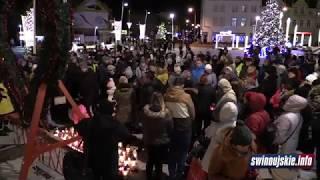 Mieszkańcy Świnoujścia uczcili pamięć Pawła Adamowicza