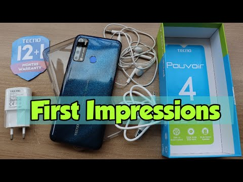 TECNO Pouvoir 4 Unboxing & First Impressions