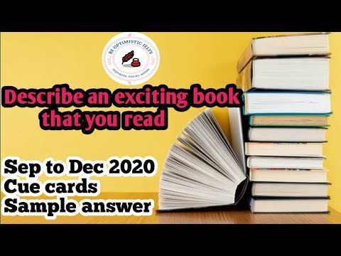 Describe an exciting book that you read or describe a book you read and found useful:Sep to Dec 2020