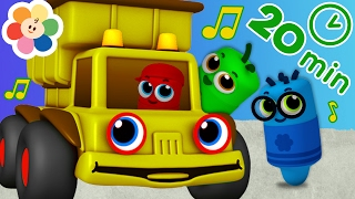 Learn Colors With Color Crew and Color Trucks | Colors For Kids | BabyFirst TV
