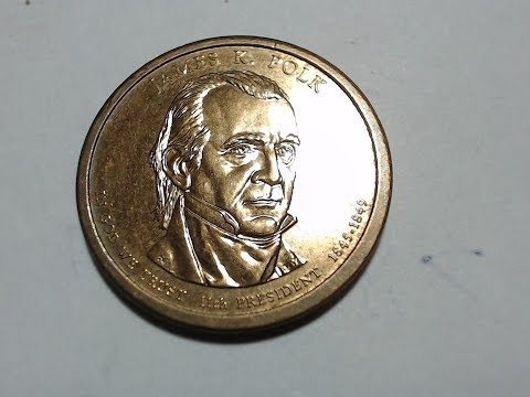 United States Dollar Coin: James K. Polk