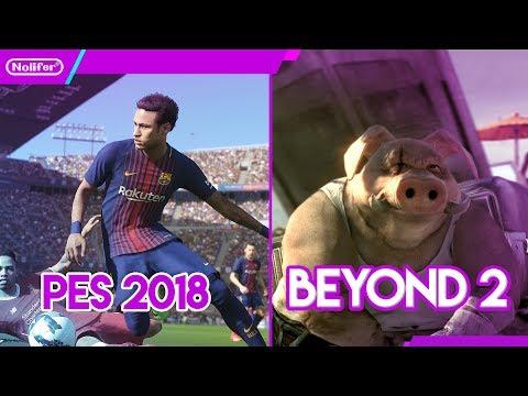 Nintendo Switch PES 2018 y Beyond good and Evil 2 / #NintendoSwitch #PES2018  #Videojuegos