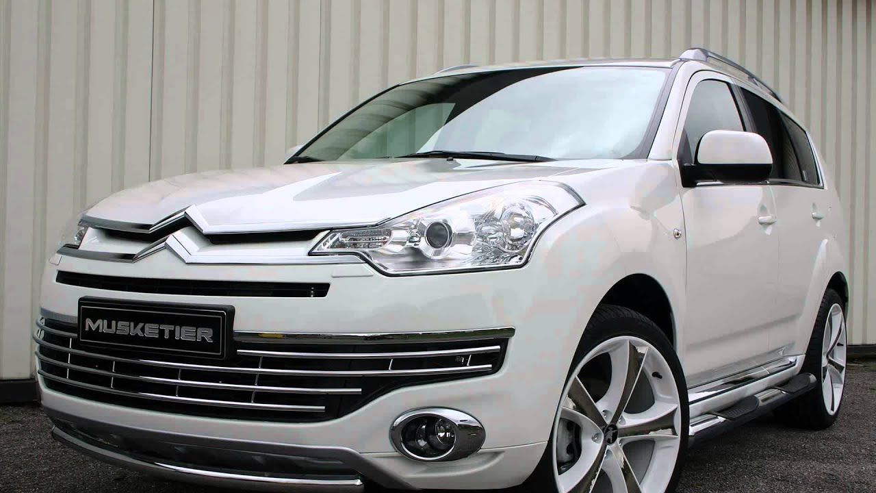 new 2015 model citroen c5 crosser youtube. Black Bedroom Furniture Sets. Home Design Ideas