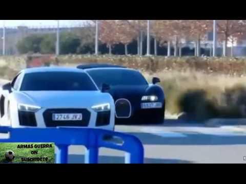 Cristiano Ronaldo vs James con su nuevo coche de 2,5Millones