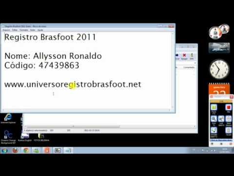 brasfoot 2011 com registro