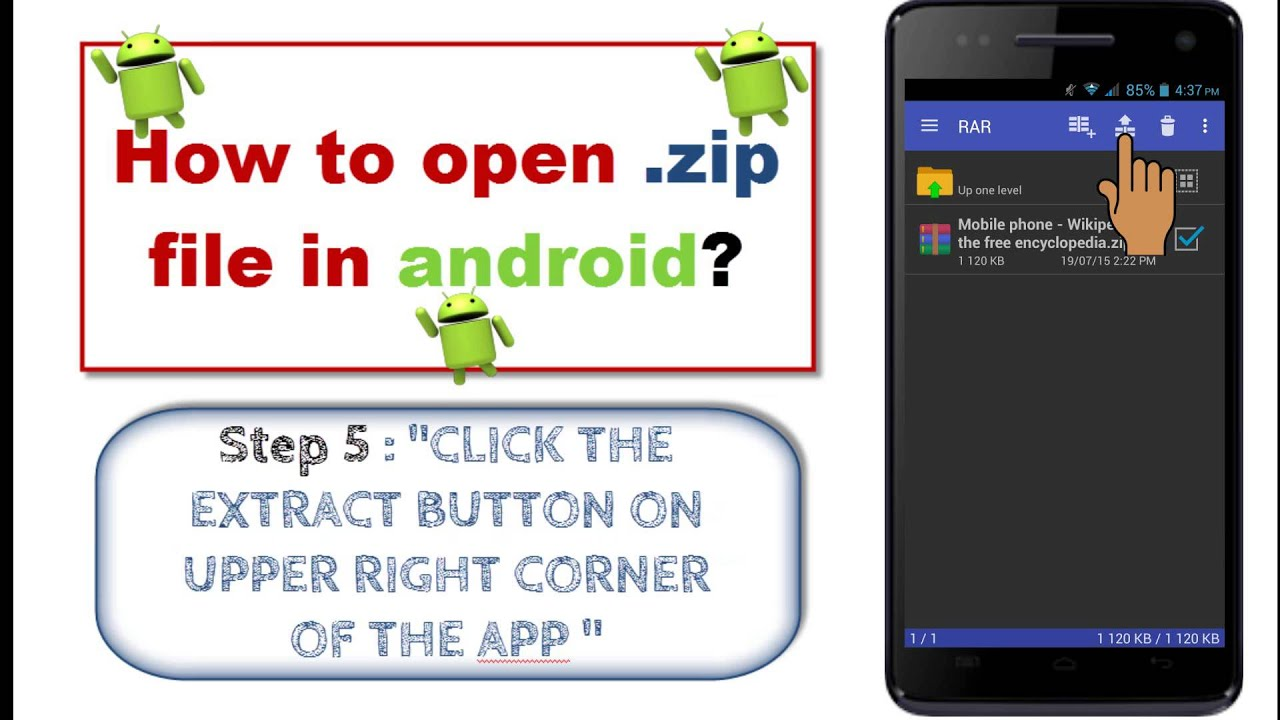 How to Download and Open Zip Files on Android for Unpacking Goodies