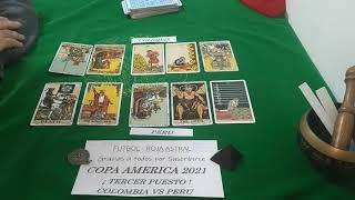 Colombia Vs Peru - Tercer Puesto  ? COPA AMERICA 2021 ? Tarot Predicciones ✅
