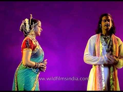 Hema Malini and Ahana Deol as Yashoda and Krishna in Shri Krishna  leela