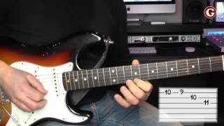 Lick 4  - Simple guitar licks -  B minor  lick  - Guitar Couch Lessons