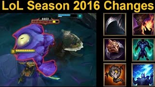 MASSIVE PreSeason 2016 Balance Changes Inc - Mini Baron, Marksman Update,  and MORE!