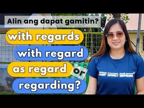 With Regard vs. With Regards vs. Regarding  Charlene's TV 