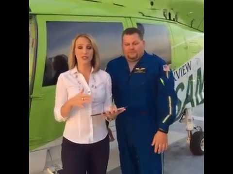 Facebook Live -- Samaritan helicopter