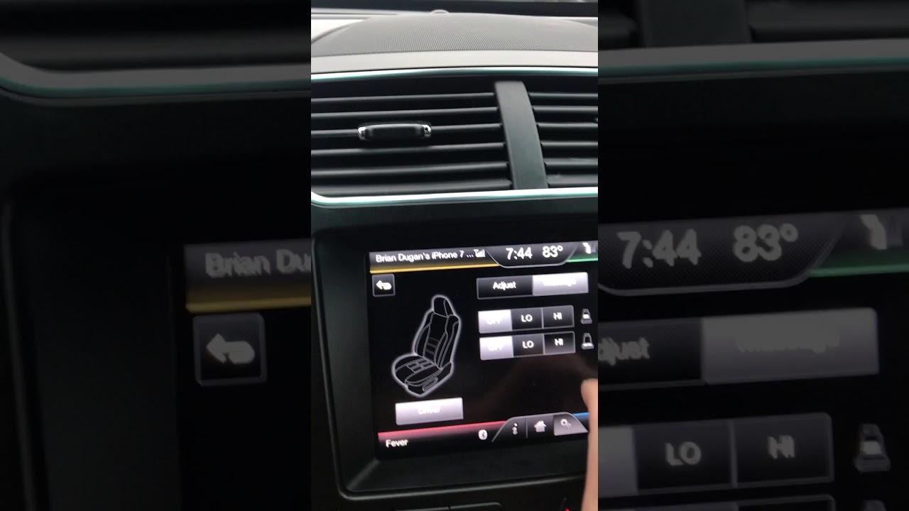 2016 Ford Explorer Multi Contour Seat Massaging Problem