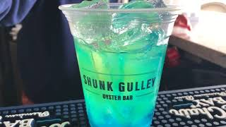 Shunk Gulley's Blue Hawaiian Cocktail!