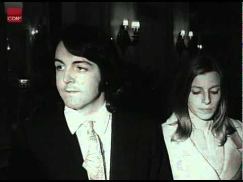 Paul McCartney Marries Linda Eastman