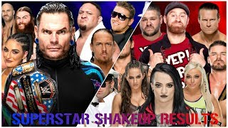 WWE SUPERSTAR SHAKE UP 2018 REVIEW & RESULTS :: PROS & CONS :: Is WWE In For An Exciting 2018?