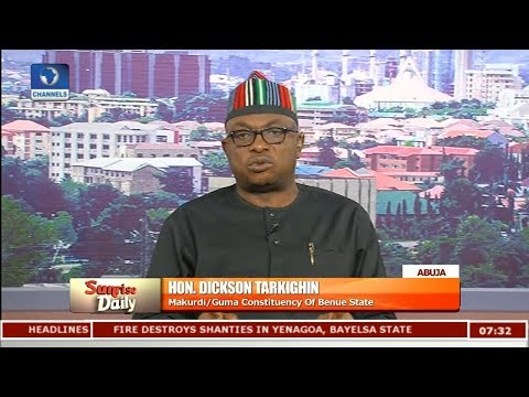 Lawmaker Decries Delay In Military Deployment After Benue Attacks  Sunrise Daily 