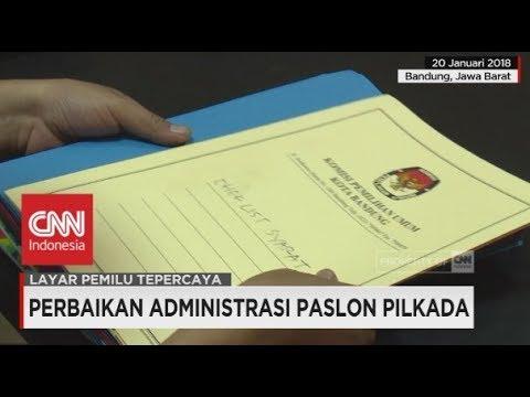 Deadline Perbaikan Administrasi Paslon Pilkada Jabar