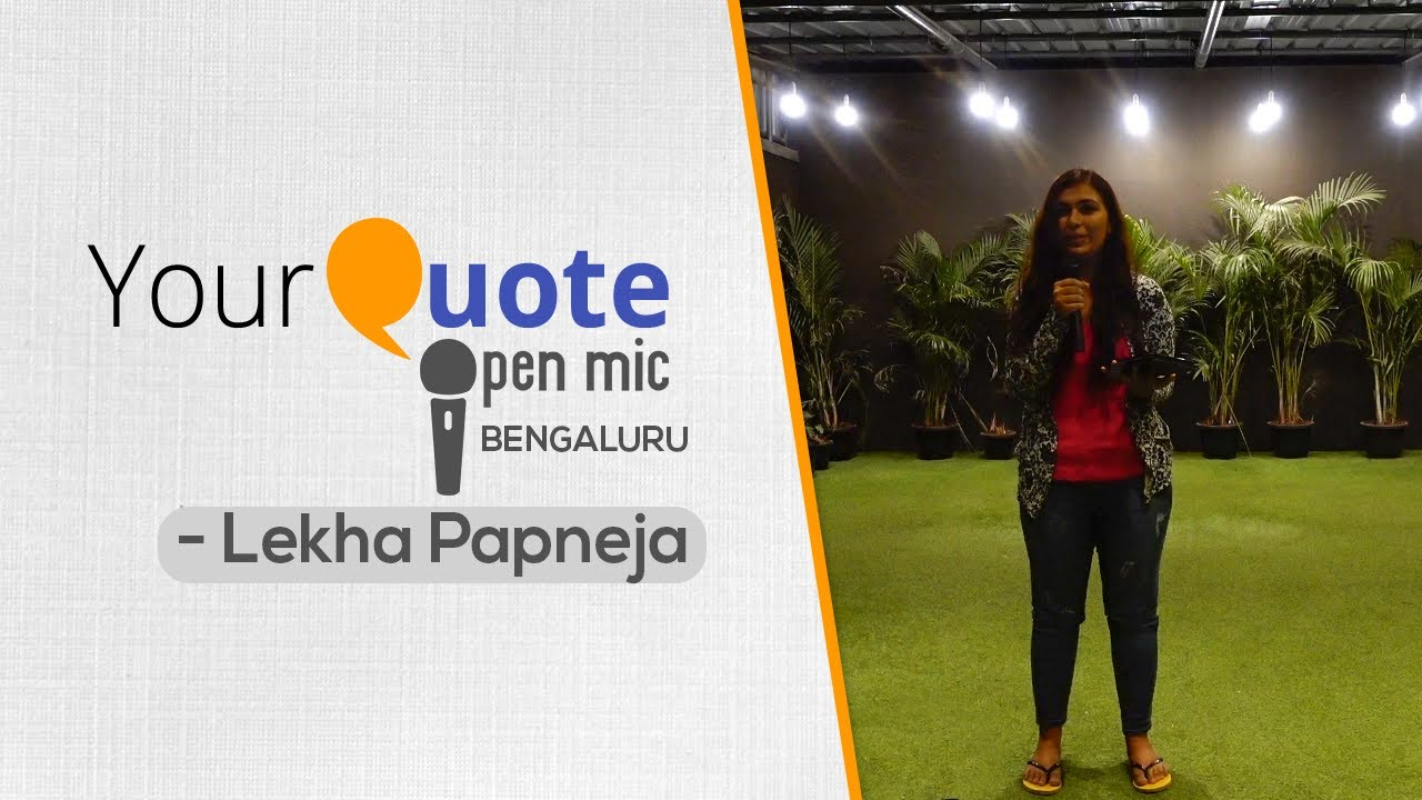 'Long Distance Relationship' by Lekha Papneja | English Poetry | YQ – Bengaluru (Open Mic 1)