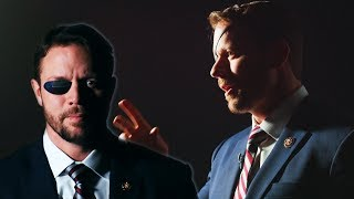 Dan Crenshaw Reveals His Eye Patch Collection