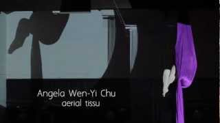 Angela Chu - aerial silk - Cosmic Love