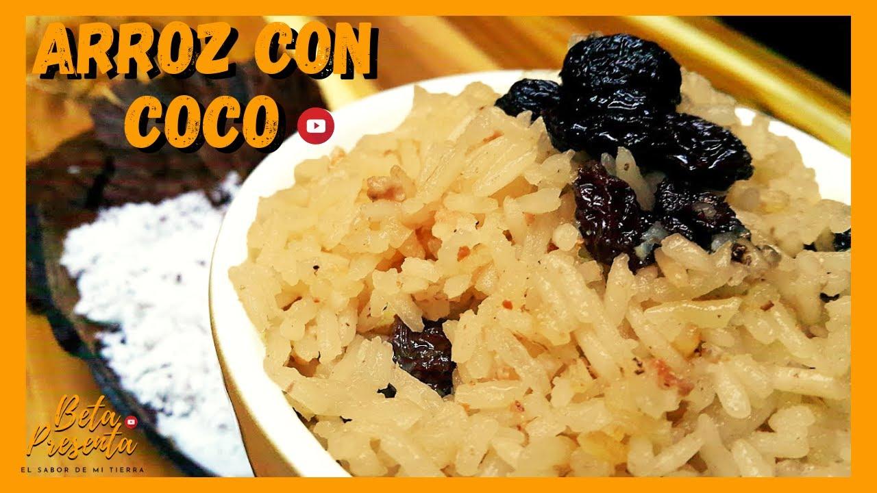 COMO hacer ARROZ con COCO del CARIBE colombiano 🍚 BLANCO l ...
