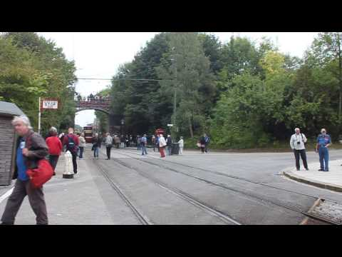 "Crich ""Electric 50"" Tram Procession Pt1"
