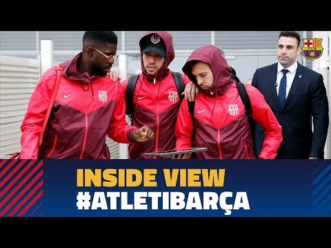 ATLÉTICO 1 - 1 BARÇA | Behind the scenes