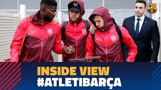 ATLÉTICO 1 - 1 BARÇA | Behind the scenes
