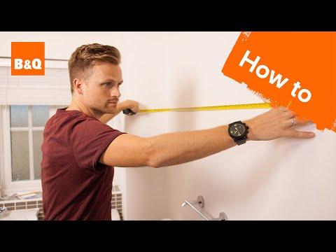 How to measure a bathroom