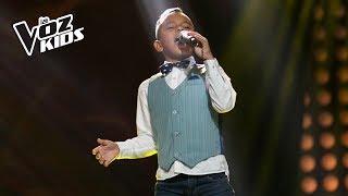 Santiago Santos canta Mi Viejo - Audiciones a ciegas | La Voz Kids Colombia 2018