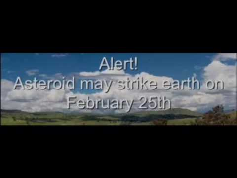 Will Huge Asteroid Hit Earth February 25, 2017 - YouTube