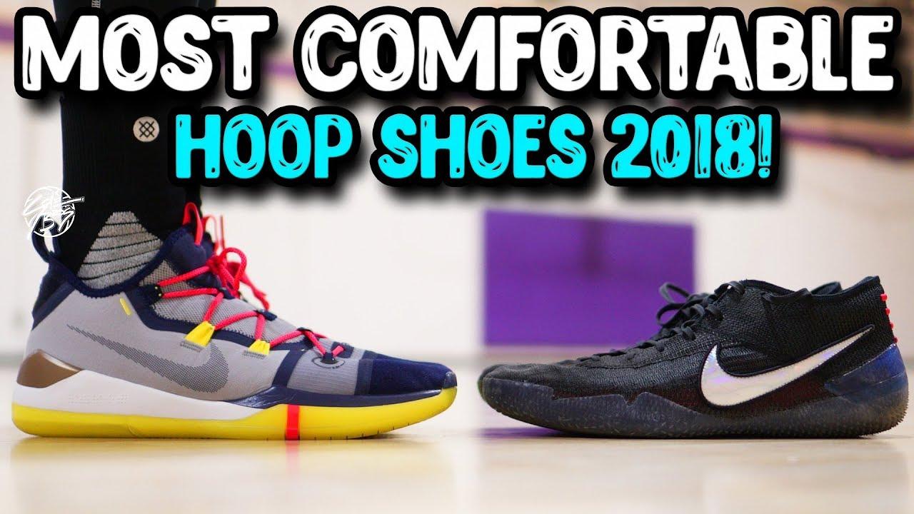 e4a2ec0b57e2 Top 10 Most Comfortable Basketball Shoes 2018! - YouTube