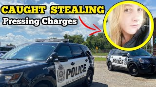 SHE GOT CAUGHT STEALING / I GOT ROBBED / I Bought An Abandoned Storage Unit Locker / Mystery Boxes