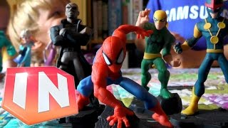 Kids Test Disney Infinity 2.0: Spider-Man Play-Set