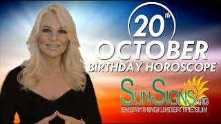 Birthday October 20th Horoscope Personality Zodiac Sign Libra Astrology