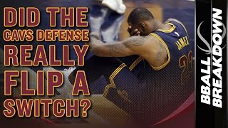 Did The Cavaliers Defense REALLY Flip A Switch?